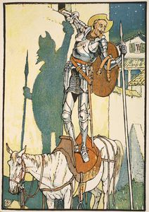 Walter Crane - The Enchantment Of Don Quixote