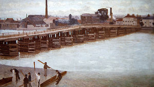 Walter Greaves - Old Battersea Bridge
