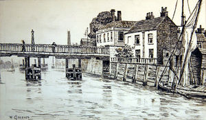 Walter Greaves - Swan Tavern, Battersea