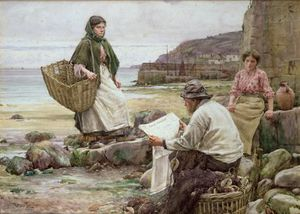 Walter Langley - Catching Up With The Cornish Telegraph