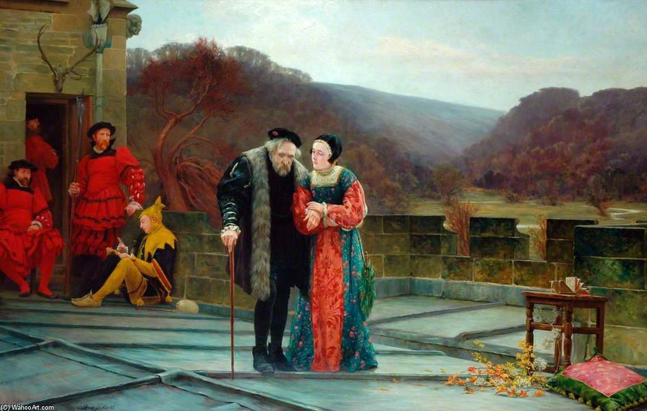 A Prisoner Of State by Walter Dendy Sadler (1854-1923, United Kingdom) | Famous Paintings Reproductions | WahooArt.com