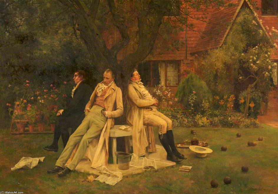 Played Out by Walter Dendy Sadler (1854-1923, United Kingdom) | Painting Copy | WahooArt.com