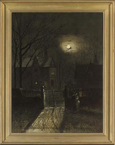 Wilfred Jenkins - The Moonlit Lovers