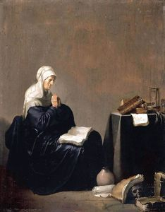 Willem De Poorter - A Woman Praying
