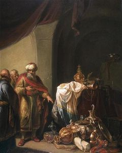 Willem De Poorter - Croesus Shows Solon His Richness