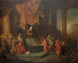 Willem De Poorter - Joseph Interprets Pharaoh-s Dream