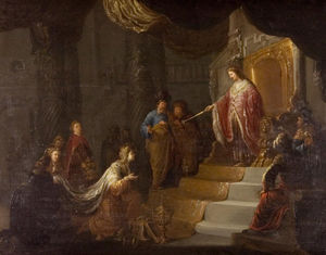 Willem De Poorter - Solomon And The Queen Of Sheba