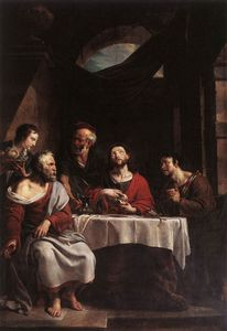 Willem Herreyns - Supper At Emmaus