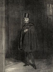 The Duke Entering The House Of Lords by Samuel John Egbert Jones  (order Fine Art fine art print Samuel John Egbert Jones)