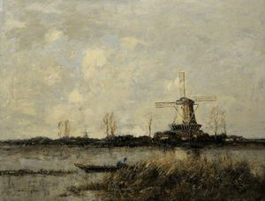 William Alfred Gibson - Windmill