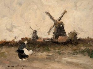 William Alfred Gibson - Windmills