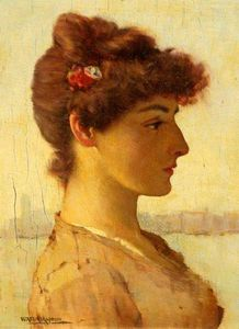 William Arthur Breakspeare - A Venetian Beauty