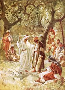 William Brassey Hole - Jesus Asking His Disciples Whom The People Say He Is
