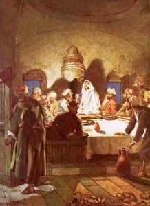 William Brassey Hole - Jesus Breaking Bread And Giving His Disciples The Cup