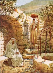 William Brassey Hole - Jesus Resting By Jacob's Well