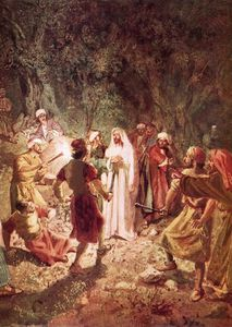 William Brassey Hole - Judas Betraying Jesus With A Kiss