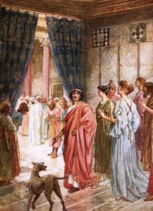 William Brassey Hole - Pilate Sends Jesus To Herod