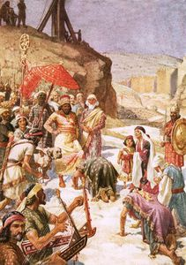 William Brassey Hole - The Submission Of Coniah To Nebuchadnezzar
