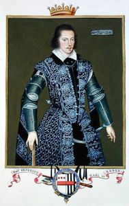 Sarah Countess Of Essex - Portrait Of Robert Devereux 2nd Earl Of Essex From -memoirs Of The Court Of Queen Elizab