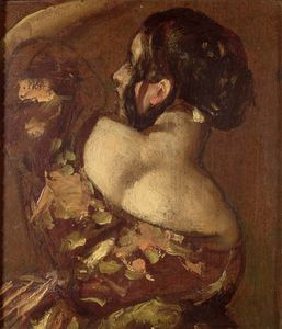 William Etty - A Lady From Behind