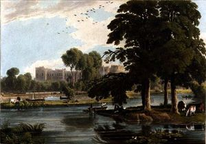William Havell - View Of Windsor Castle