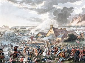 William Heath - The Battle Of Waterloo