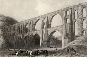 William Henry Bartlett - Aqueduct Of The Emperor Valens