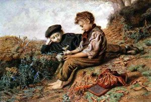 William Henry Hunt - Schoolboys With A Stolen Nest