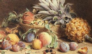 William Henry Hunt - Still Life With Fruit