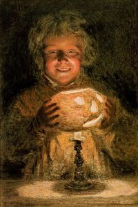William Henry Hunt - The Turnip Lantern,