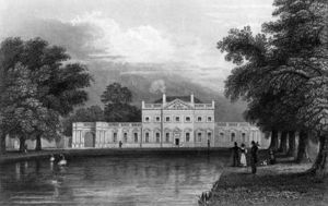 William Hoare - Boreham House, Essex, Engraved By John Rogers,