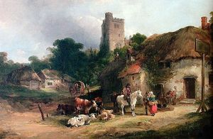 William Joseph Shayer - The Plough Inn
