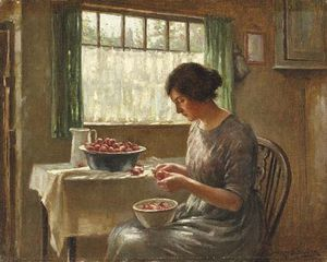 William Kay Blacklock - Cleaning Fruits