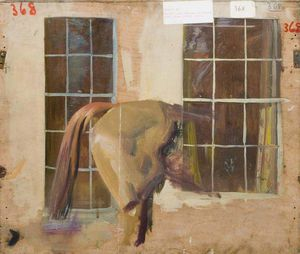 Alfred James Munnings - Study -