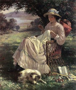William Kay Blacklock - Sunlight And Shadow
