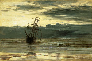 William Lionel Wyllie - Dawn After A Storm