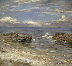 William Mctaggart - Natural Harbour, Cockenzie