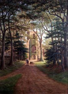 William Mellor - Harewood Church, Yorkshire