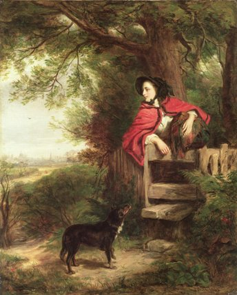 A Dream Of The Future - by William Powell Frith (1819-1909, United Kingdom) | Oil Painting | WahooArt.com