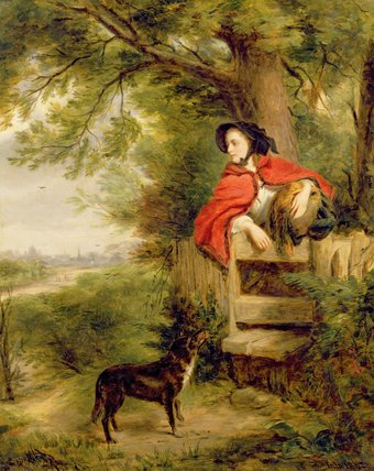 A Dream Of The Future by William Powell Frith (1819-1909, United Kingdom) | Museum Art Reproductions William Powell Frith | WahooArt.com
