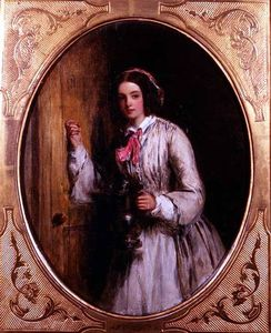 William Powell Frith - A Maid With A Flagon -