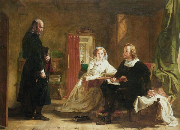 A Question Of Faith by William Powell Frith (1819-1909, United Kingdom)