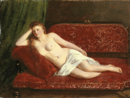 After The Bath by William Powell Frith (1819-1909, United Kingdom)