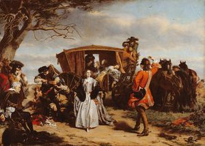 William Powell Frith - Claude Duval