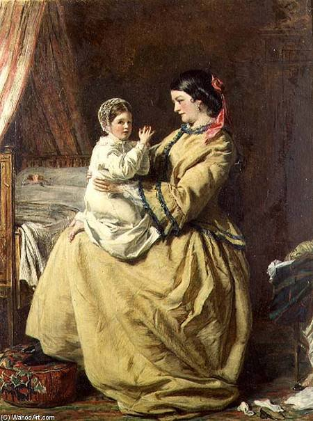Evening Prayer - by William Powell Frith (1819-1909, United Kingdom) | Famous Paintings Reproductions | WahooArt.com