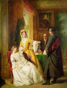 William Powell Frith - Love Token