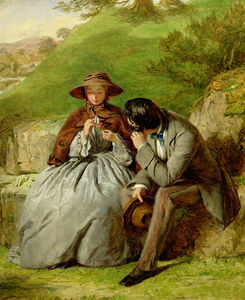 William Powell Frith - Lovers