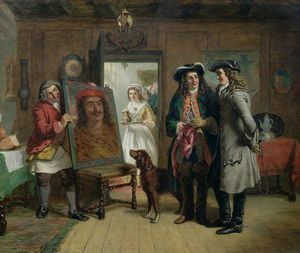 William Powell Frith - Sir Roger De Coverley And Addison
