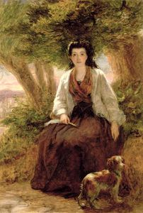 William Powell Frith - Sterne's Maria