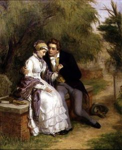 William Powell Frith - The Lover's Seat -